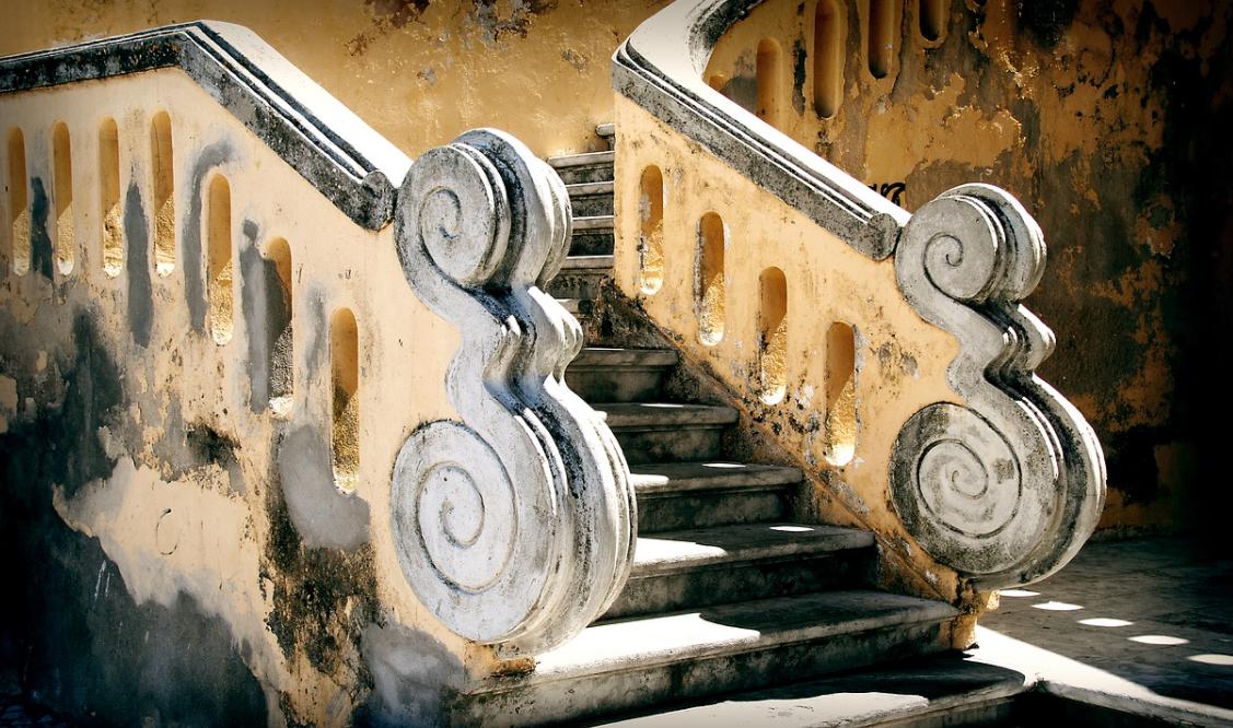 exteriérové schodiště