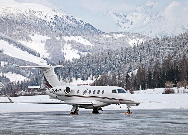 letadlo v horách