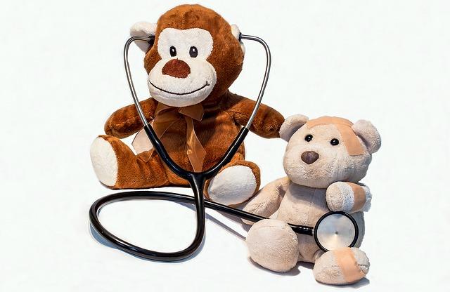plyšáci se stetoskopem