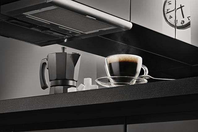 domácí káva z kávovaru
